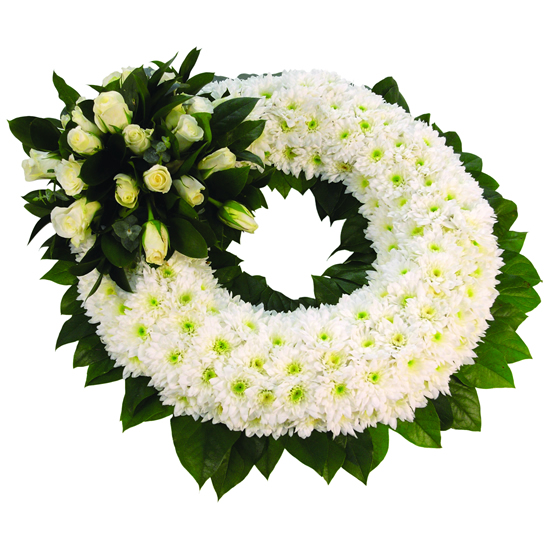 Chrysanthemum Based Wreath - FL024