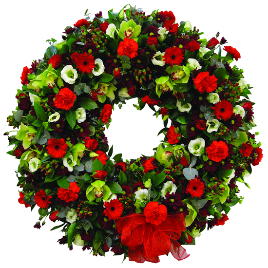 Loose Wreath On A Stand - FL022