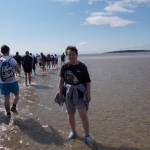 Jill Palmer of Lodge Brothers Windsor Completes Morecombe Bay Walk