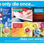 You Only Die Once…Make Your Wishes Known
