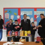 Lodge Brothers Bring Easter to St Richard's School, Hanworth