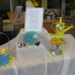 An egg-cellent easter window display