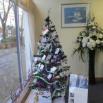 Christmas Tree of Remembrance at Lodge Brothers Molesey