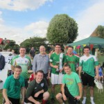 Lodge Brothers Sponsor St Michael's School Dad's Football Tournament