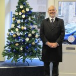 Blessing of the Christmas Tree at Chertsey Branch