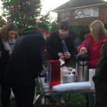Christmas Tree Lights Switched on in Englefield Green