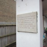 Lodge Brothers Renovate Plaque for The Alan Freeman Trust