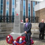 Hundreds Attend War Memorial Unveiling at Holy Trinity, Hounslow
