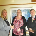 New Manager of Ashton Lodge Nursing Home Welcomed by Lodge Brothers Staff