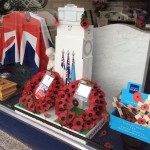 Remembrance 'Cenotaph' Window Display at Lodge Brothers Northolt Branch
