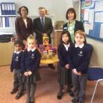 Chocolate Egg Donation to St Richards School Hanworth
