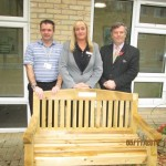 Beechwood Court Day Centre Gets a New Bench from Lodge Brothers