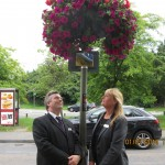 Lodge Brothers Sunbury Sponsors Floral Display