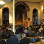 Lodge Brothers Christmas Service of Remembrance at St Mary's Sunbury