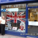 WWI Centenary Anniversary Display at Weybridge Branch