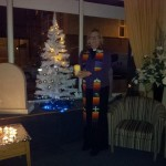 Christmas Tree Blessing at Lodge Brothers Windsor