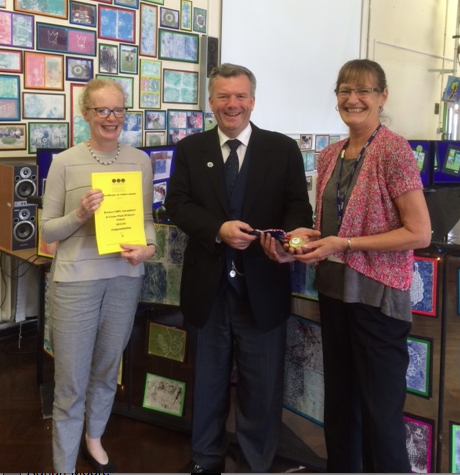 Crane Park Primary School Give Attendance Awards to Pupils