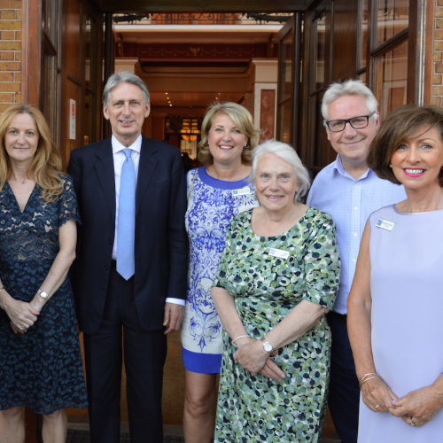 Chancellor of the Exchequer Philip Hammond Heads UP the Local Runnymede & Weybridge Enterprise Forum Summer Soire