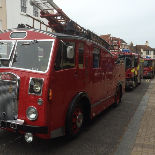 Chertsey Says Farewell to Local Fireman John Toes