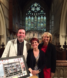 St James Church, Weybridge 'Artist in Residence' Scheme Sponsored by Lodge Brothers