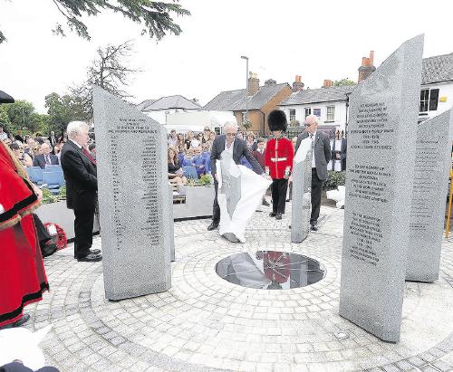 Englefield Green War Memorial Unveiled in Special Ceremony