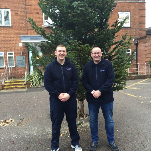 Phyllis Tuckwell Hospice Gets Their Christmas Tree!