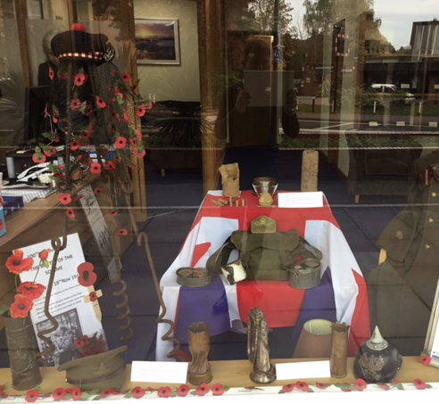 A Special Window of Remembrance at Lodge Brothers Woking Branch