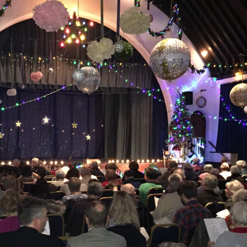 Lodge Brothers Special Christmas Celebration at Whiteley Village