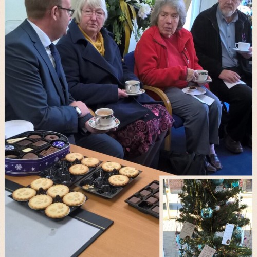 Christmas Tree Blessing at Addlestone Branch