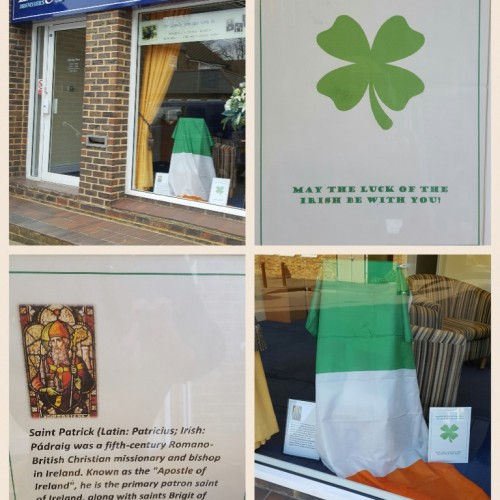 St Patrick's Day at Cobham Branch