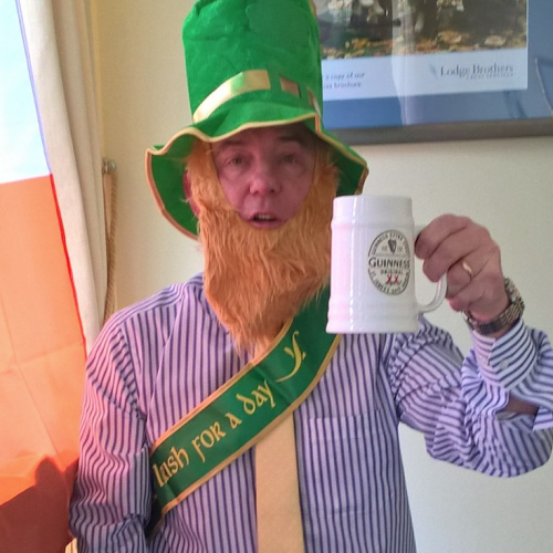 Lodge Brothers Addlestone – Irish for a Day!