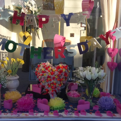 Wonderful Mothers Day Display at Addlestone Branch