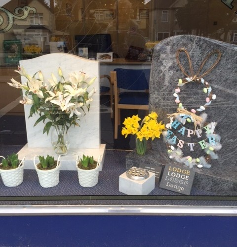 Easter window 2017