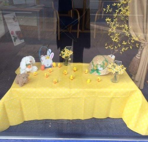 Easter Display at Feltham Branch