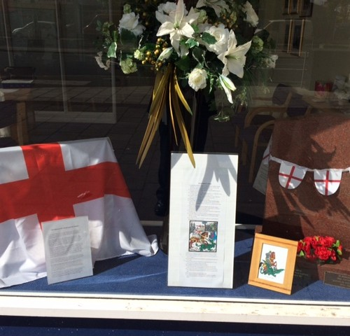 St George's Day At Bedfont Branch