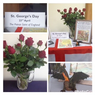 St George's Day in Woking