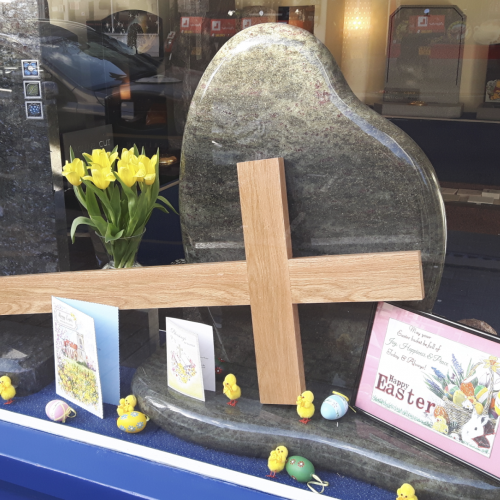 Surbiton Branch Easter Display