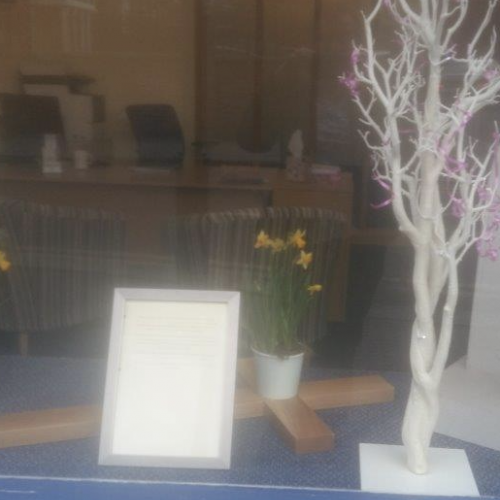 Mothers Day Display at Windsor Branch
