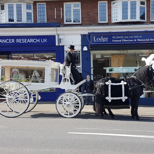 Horse Drawn Hearse From Sunningdale Branch