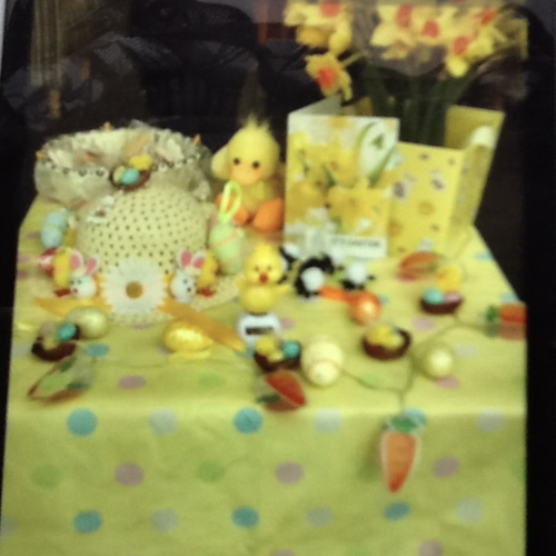 Molesey Branch Easter Display