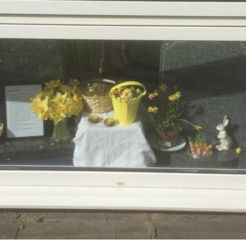 A Splash of Easter Colour At Brentford Branch