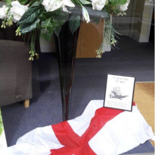 St George's Day Display – Esher