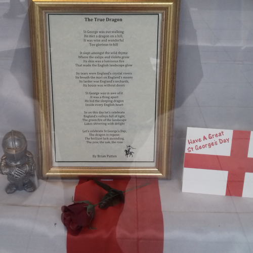 The True Dragon Poem for St George's Day