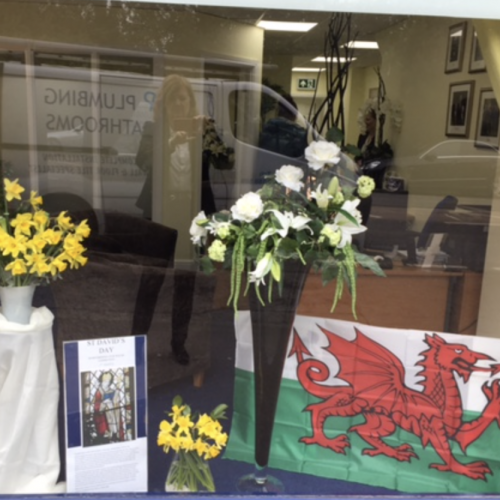 St David's Day in Ascot