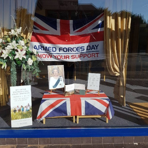 Feltham Branch Honour The Queen's Official Birthday