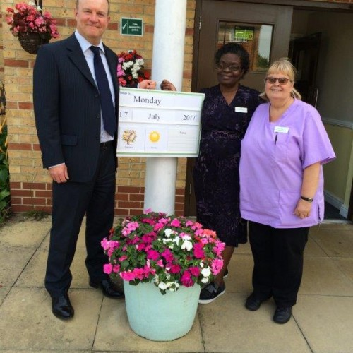Memory Boards for Dementia Sufferers Donated to Coniston Lodge