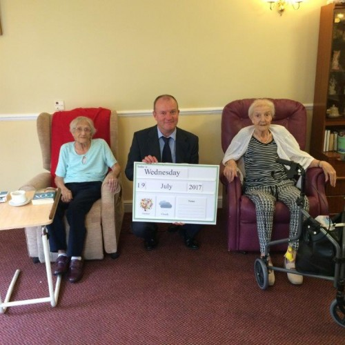 Derwent Lodge Get Their Memory Boards