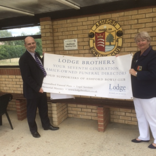 Lodge Brothers Supporting Ashford Bowls Club