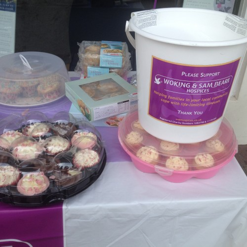 Cake Sale at Woking Branch with Proceeds to Woking & Sam Beare Hospices