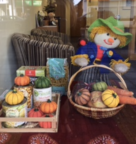 Harvest Time at East Molesey Branch